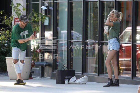 #BillKaulitz et Caroline Daur a Los Angeles, California (03.08.2017)!