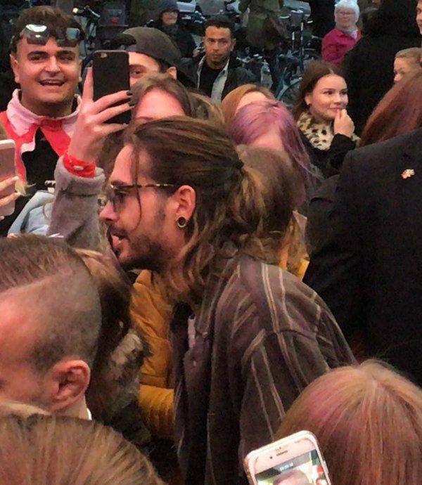 Tom au festival de leur film