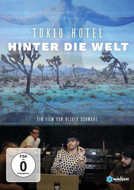 """Voici la pochette du DVD """"Hinter die Welt!"""""""