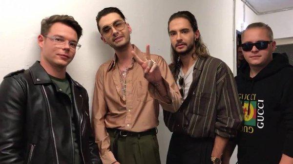 Message de Tokio Hotel pour les deux dates françaises !
