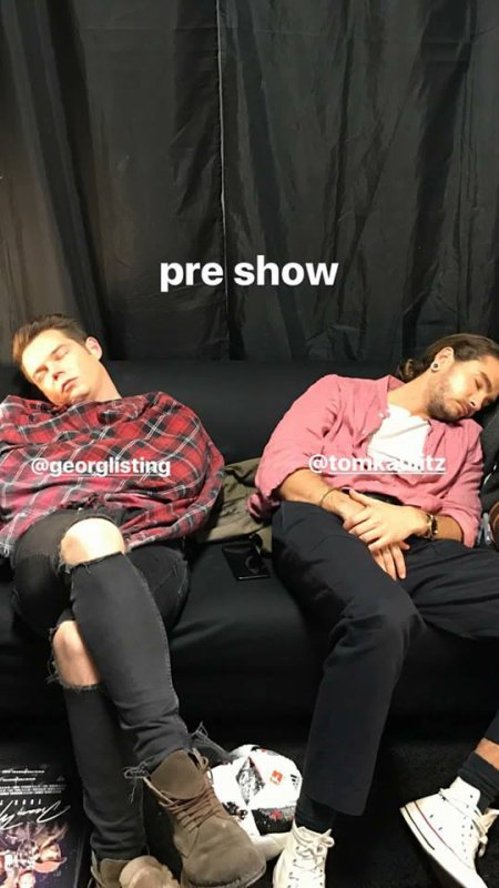 Instagram story de Bill