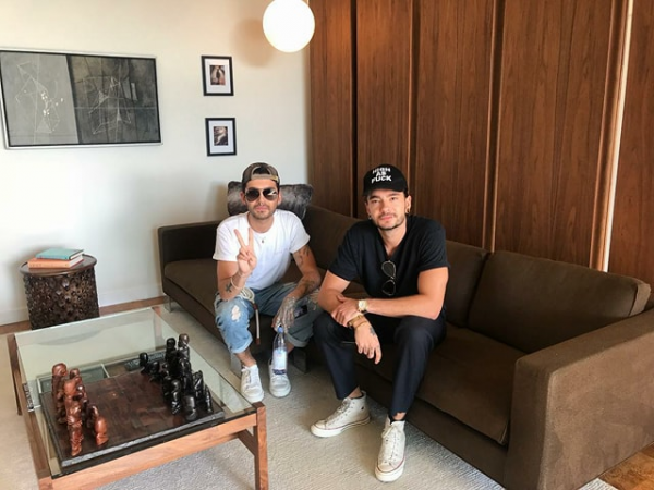 Photo de Bill et Tom (Los Angeles-03.12.2017)