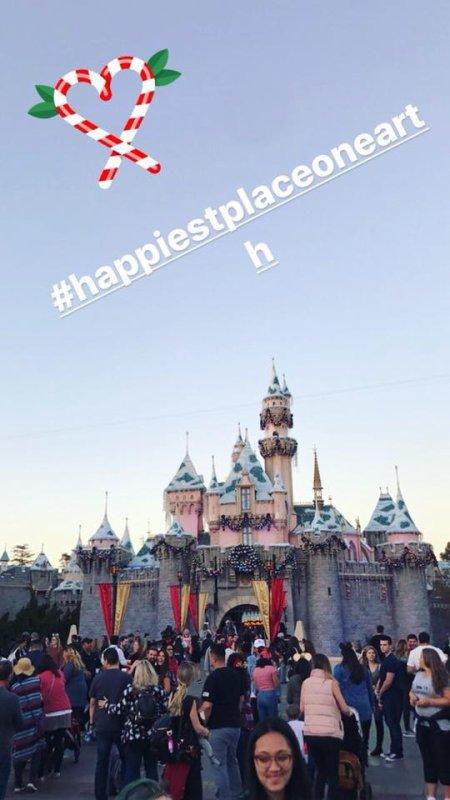 Bill et Tom au Parc Disneyland (Los Angeles, 13.12.2017)