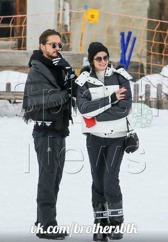 Tom et Shermine en suisse