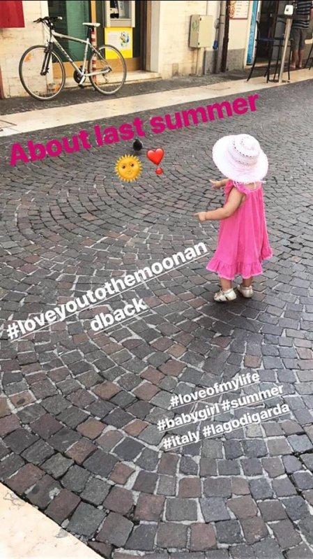 Instagram story de Gustav