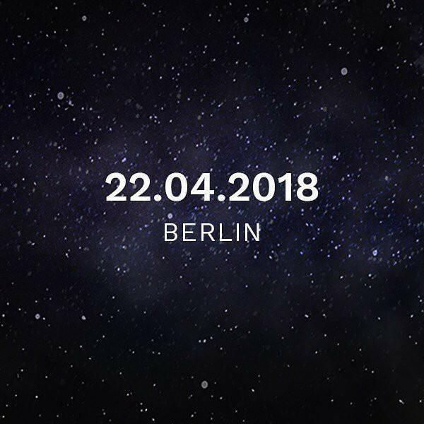 Show de répétitions à Berlin le 22 avril !