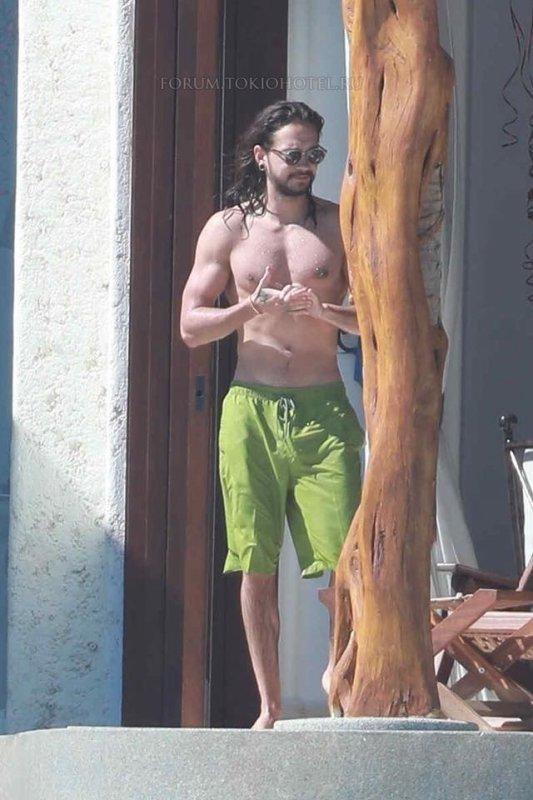 Tom Kaulitz, Cabo San Lucas (Mexique - 08.04.2018)