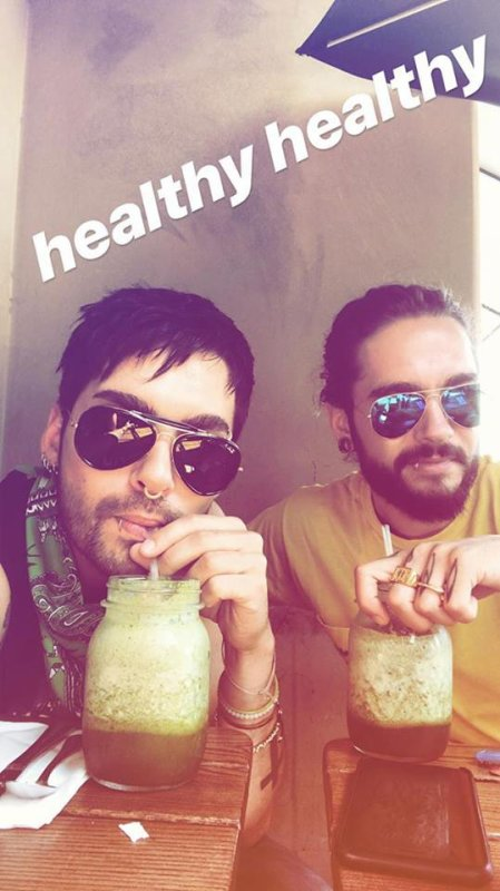 Instagram story de Bill