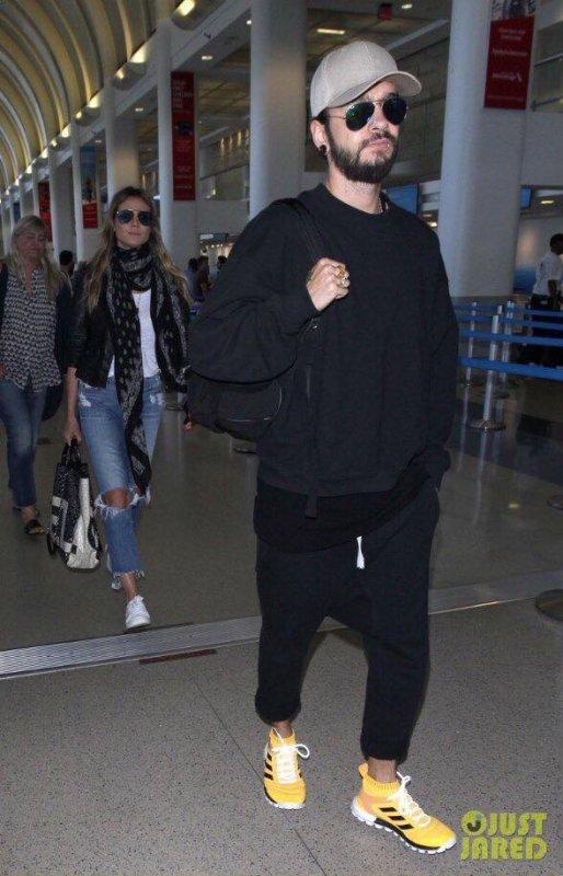 Tom et Heidi le 08.07.2018 - LAX Airport, LA