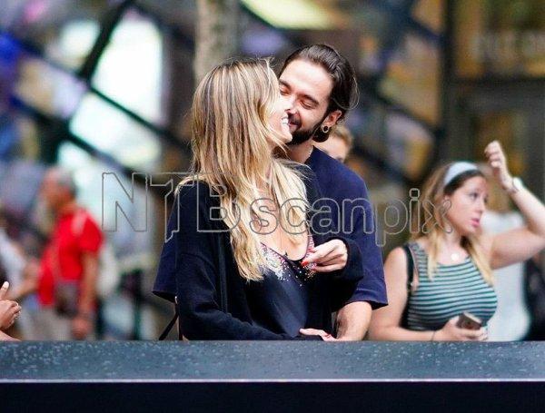 Nouvelles photos de Tom et Heidi à New-York suite 2