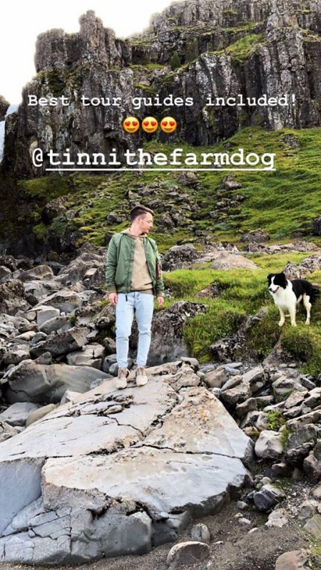 Instagram story de Georg
