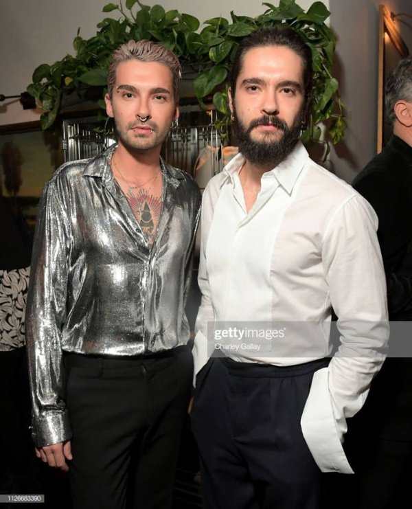 Bill & Tom Kaulitz - Soirée Cadillac Oscars (Los Angeles, 21.02.2019)