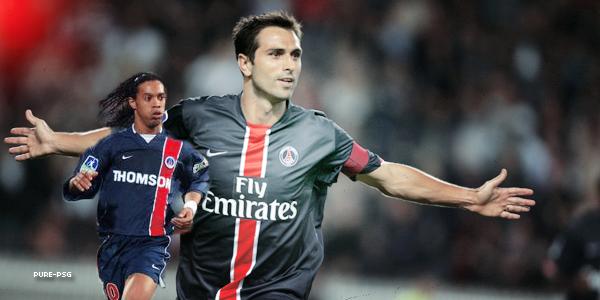 Quelques anciens joueurs du Paris Saint-Germain ......