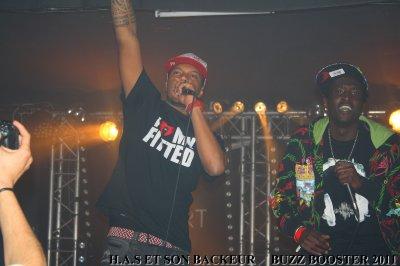 H.A.S artiste de panam egalement present au buzz booster 2011