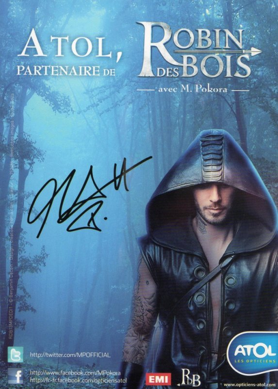 m pokora blog de alexis autographes. Black Bedroom Furniture Sets. Home Design Ideas