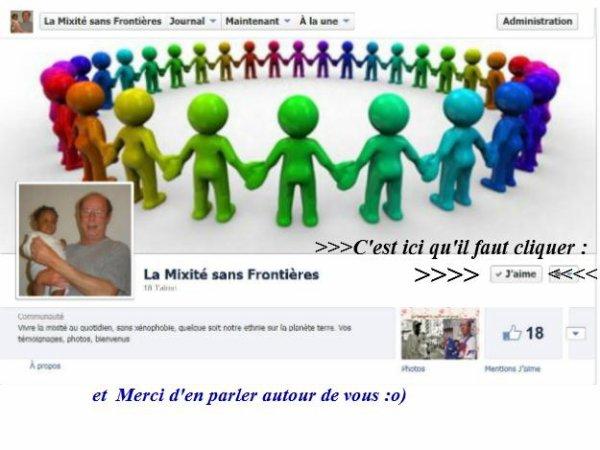 J'ai créé une  nouvelle  page sur Facebook...