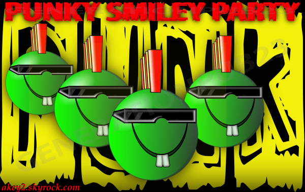 PUNKY SMILEY PARTY