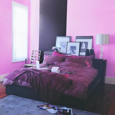 Chambre a coucher on coulour move blog de oujda peinture - Chambre a coucher peinture murale ...
