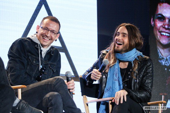30 Seconds to Mars, Linkin Park & AFI Press Conference – Los Angeles – 04 March 2014