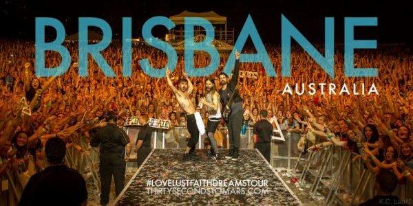 Crowd shot in Brisbane, Australia.