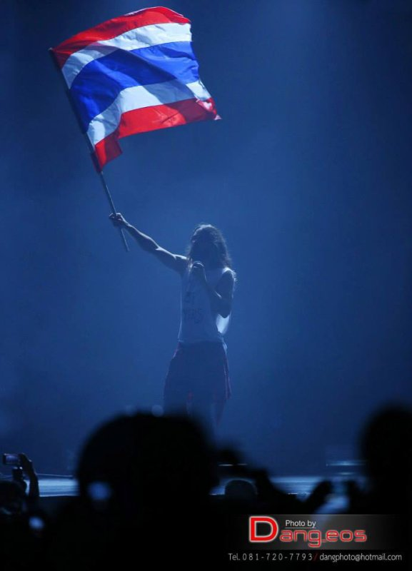 30 Seconds to Mars Live in Bangkok – Pics
