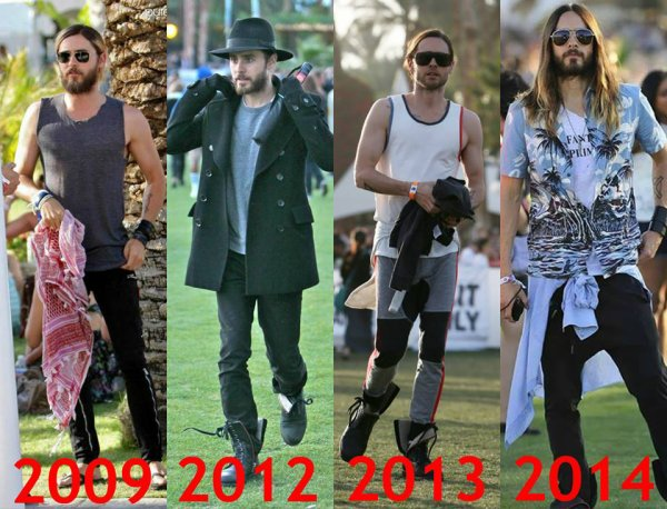 Jared au Coachella