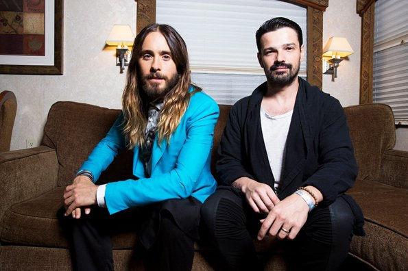 Jared & Tomo Picture at iHeartRadio Awards by Rolling Stone