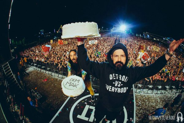 Jared & Tomo at Volt Festival Pics by Steve Aoki