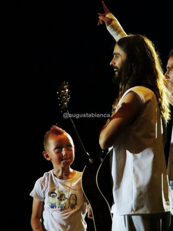 30 Seconds to Mars in Prague Pics by @augustabianca 30 June 2014
