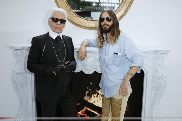 Jared At Chanel Haute Couture Fall/Winter 2014-2015 Fashion Show – Paris Fashion Week – 08 July 2014