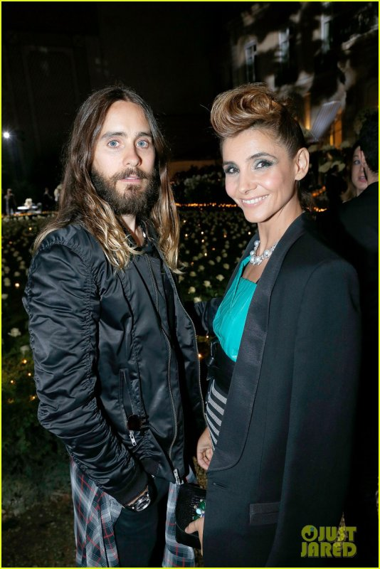 Jared At Giorgio Armani Prive: Haute Couture Fall/Winter 2014-2015 – Paris Fashion Week – 08 July 2014