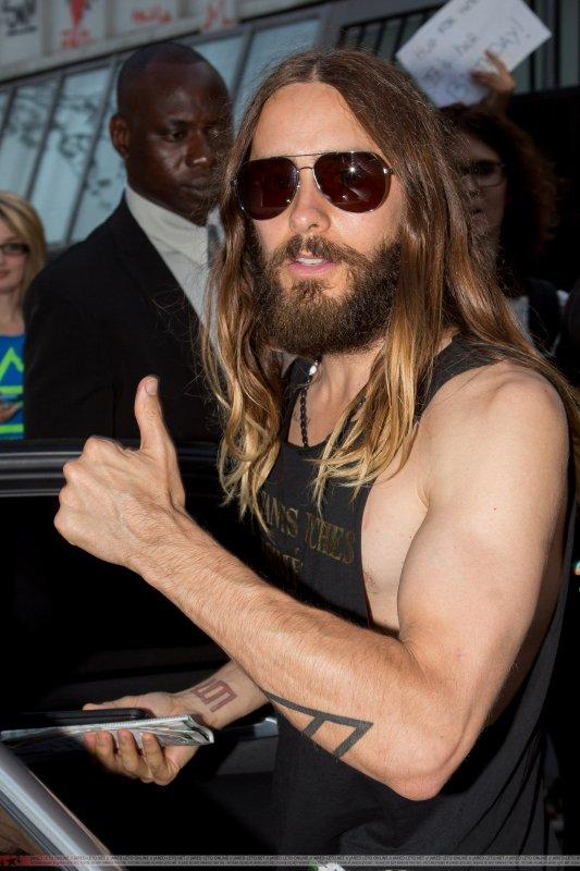 Jared in Paris 16 July 2014