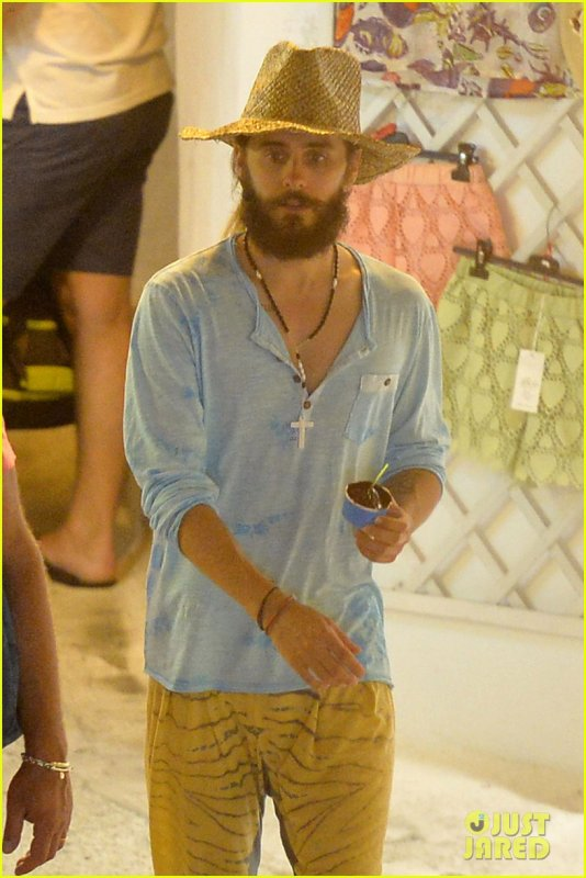 Jared & Shannon in Ponza, Italy 27 July 2014