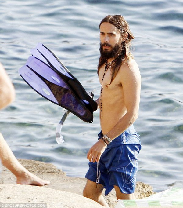 Jared in Ibiza 03 Aout 2014