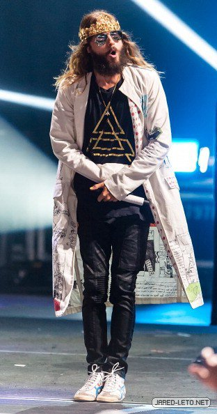30 Seconds to Mars in Camden, NJ – 15 Aug 2014