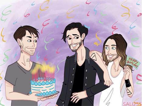Happy Birthday Tomo !!