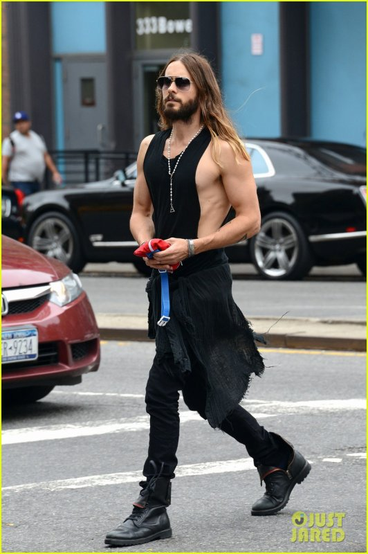 Jared in New York City 30 Sep 2014