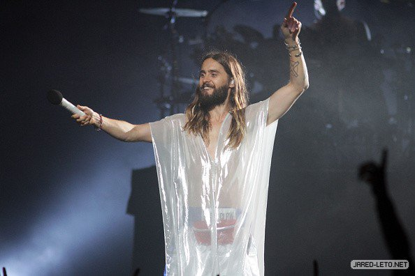 30 Seconds to Mars in San Juan, Puerto Rico – 03 Oct 2014