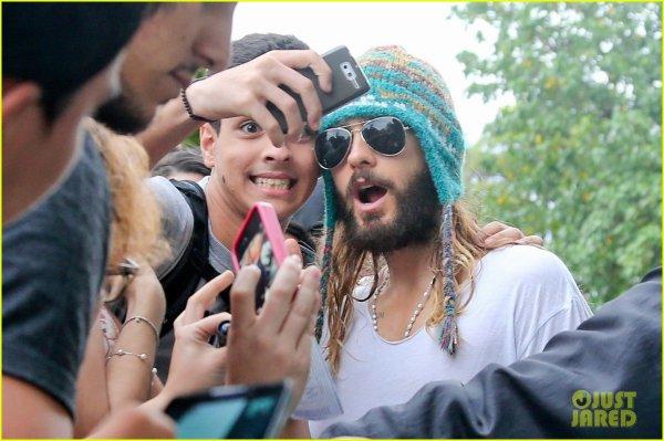 Jared In Rio de Janeiro – 20 Oct 2014