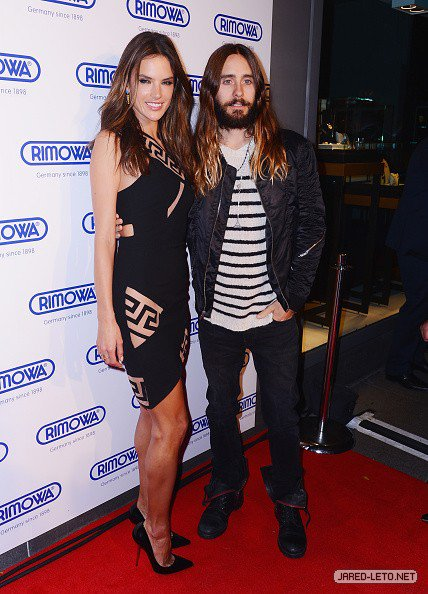 Jared at Rimowa NYC Store Grand Opening – Pics  28 Oct 2014