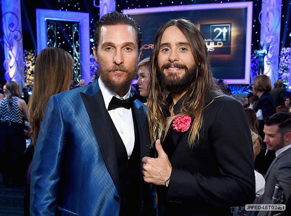 Jared Leto at 21st Annual Screen Actors Guild Awards – Show Pictures