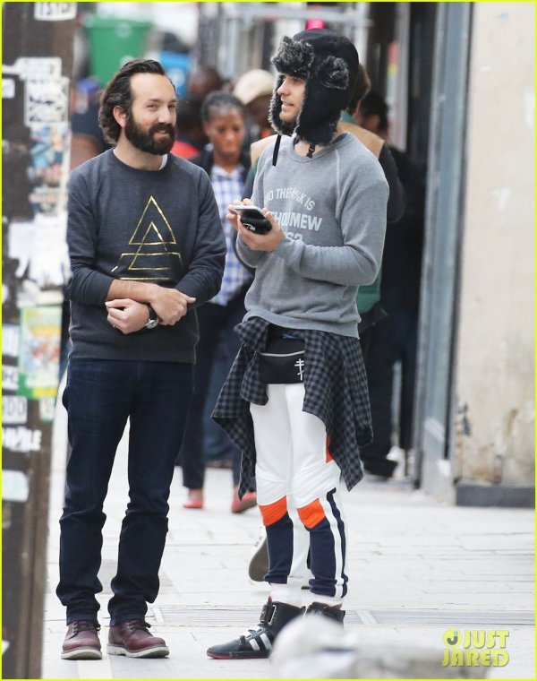 Jared Out in Paris, France – 10 May 2015