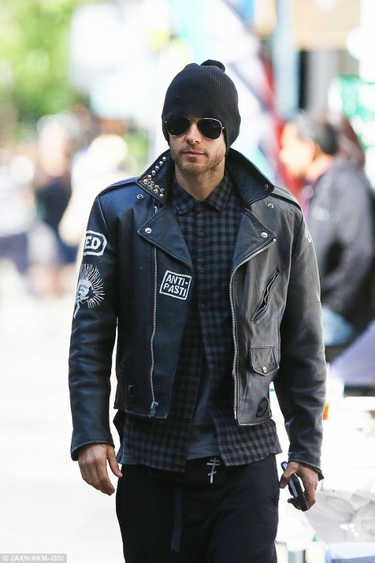 Jared Out in Rome – 11 May 2015