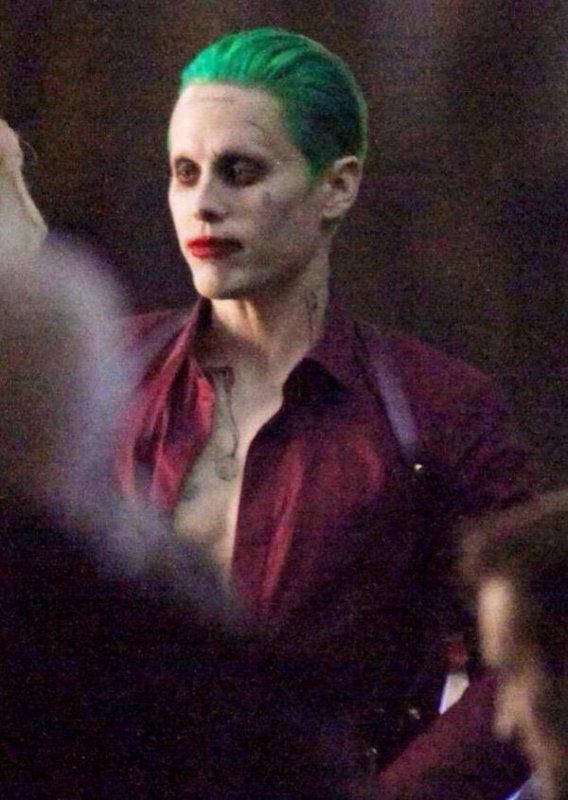 Première photo de Jared en Joker et première video !!!