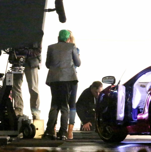 Jared on the set Suicide Squad ! Joker ! TORONTO - 17 MAY 2015