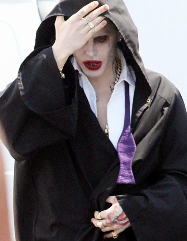 "Jared ""Joker"" tournage Suicide Squad :)"