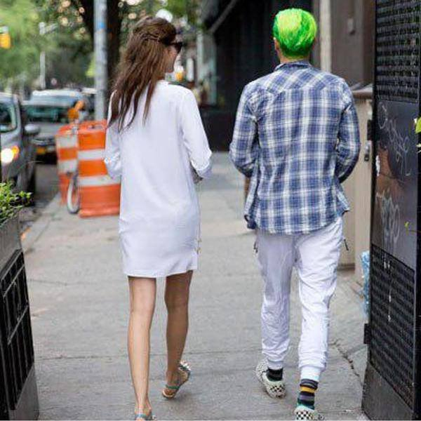 Jared Leto and Valery Kaufman. NYC, July 11, 2015