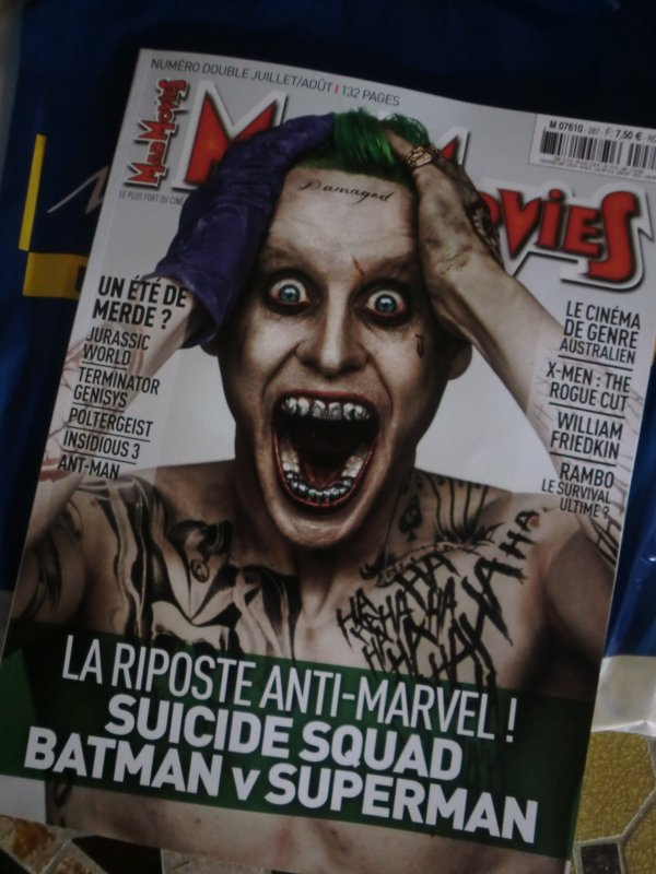 Jared en couverture de Mad Movies !