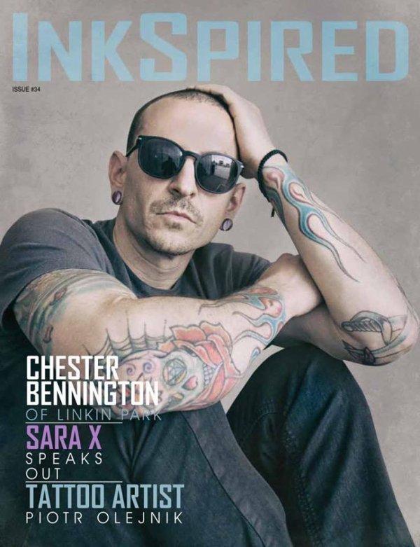 Chester dans la magasine InkSpired