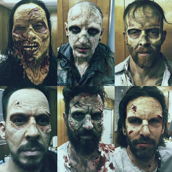 Linkin Park en Zombie pour Halloween !!! Excellent !